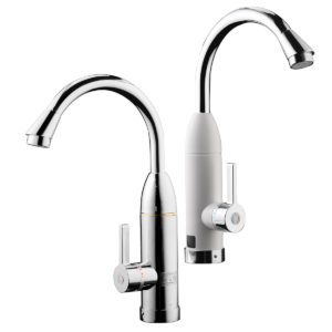 220V Tankless Electric Heating Tap Instant Electric Water Heater Faucet Tap with LED Digital Display