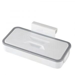 Kök Fyrkantig avfallspåsehållare Papperskorgshållare Skåp Dörr Bak Hängande Låda Förvaringsställ Skåp