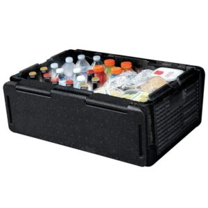 Chill Chest Cooler 60 Cans Collapsible Refrigerator Insulated Portable Waterproof Outdoor Storage Box Cooler