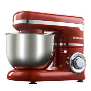 Biolomix BM6178 kökstativblandare 4L rostfritt stålskål 1200W Home Professional Chef Machine
