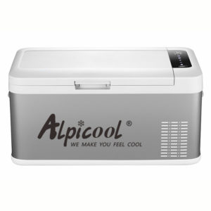 ALPICOOL 45W 18L bärbar minikyl kylskåp frys Mini kompressor kylskåp Hem kylskåp