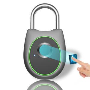 Bakeey Smart Fingerprint Door Lock Padlock USB Charging Waterproof Keyless Anti Theft Travel Luggage Drawer Safety Lock