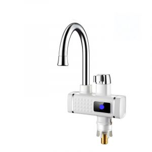 3000W 220V Electric Faucet Instant Tap Heater Rapid Heat Hot Water With Display