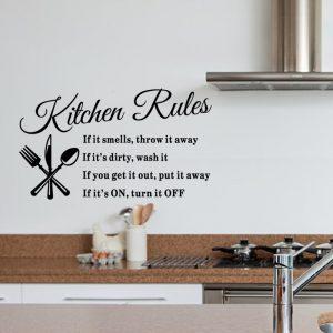 Miico DZ008 Decorative Sticker Wall Stickers Decor DIY Stickers Kitchen Decoration