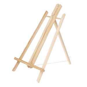 50 cm bordsskärm Bokträkonstnär Art Staffel Craft Träfotoramhållare