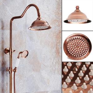 203x130mm lyxigt europeiskt krom gyllene färg duschspray badrum kran badset tillbehör