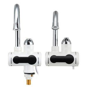 3000W 220V elektrisk kran kran varmvattenberedare direkt för badrumskök