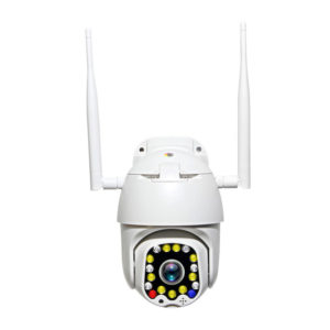 Bakeey 1080P 335° 17 LED PTZ Full Color Night Version Smart IP Camera IP66 Movement Detector CCTV SD Card & Cloud Storage Two-way Audio Outdoor Monitor