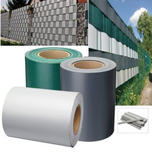 19x35m Garden PVC Fence Privacy Screen Roll Balcony UV Resistant Sunscreen Cover