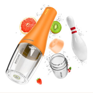 BOWLING JUICER JC-01 Electric Portable Bowling Juicer Vegetables Blender Maker Juice Extractor