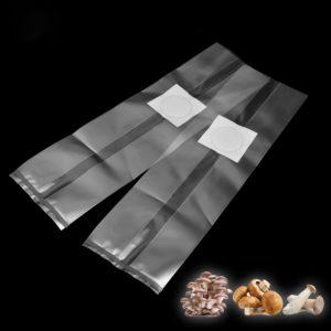 10Pcs 250x500x0.06mm PVC Mushroom Spawn Grow Bag Substrate High Temp Pre Sealable Garden Supplies