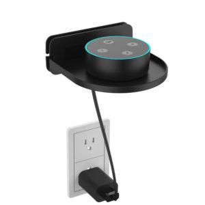 Universal bärbar väggfäste för Amazon Echo Dot 3 2-högtalare för Google Home Mini / Google Wifi-telefoner Säkerhetskameradelar TV-support
