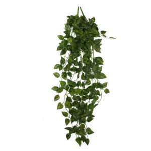 2 Bunch 4ft Artificial Silk Scindapsus Ivy Leaf Garland Plant Vine Foliage Garden Home Decorations