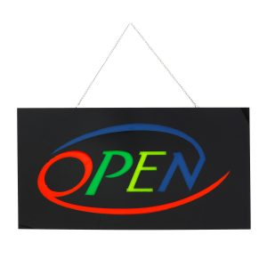 OPEN LED Neon Sign Bar Shop Display Studio Window Hanging Light Visual Artworks LED Board