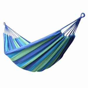1-2 Person Hanging Double Hammock Chair Swing Bed Garden Outdoor Camping