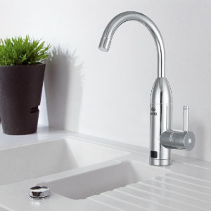3000W Instant Electric Faucet Hot Water Fast Heater Under Inflow Bathroom Kitchen Heating Tap