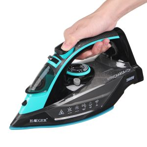 2600W Household Cordless Garment Steam Iron 5-level Variable Temperature Control Light