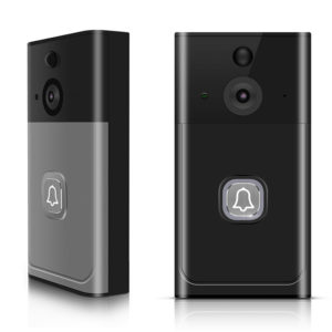 Bakeey 2.4GHz 433Mhz PIR Night Vision Two-Way Audio Wireless WiFi Video Doorbell For Smart Home
