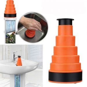Bathrooom Kitchen Sink High Pressure Drain Sink Plunger Pipe Cleaner Air Power Dredging Tool