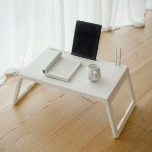 Jazy Multifunction Folding Small Square Table with Flat Card Slot Wearable Charging Hole from xiaomi youpin