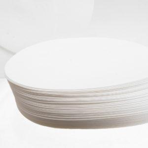 100Pcs/Set 7/9/11/12.5/15/18cm Qualitative Filter Paper Circular Funnel Filter Sheet Slow Speed 10-15um