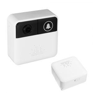 Bakeey 720P Video Intercom Hem Trådlös WiFi Intelligent Stöldövervakning Smart HD-telefonpåminnelse Kameradörrklocka
