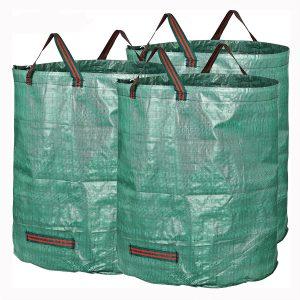 3 förpackningar Trädgårdsavfallspåsar 72 gallons grenlöv Samlar hushållningskorgar
