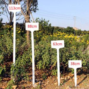 10st anpassningsbara trädgårdsanläggningar vattentät större etikett trädblomma planteringsverktyg