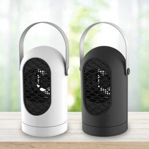 400W Mini Hushåll Elektrisk värmare Vintervarmare Fläkt Luftvärme Intelligent styrning IC