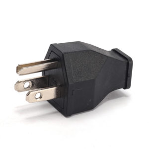 Loskii HA-16 US Wire Plug Residential Straight Blade Plug 15-Amp 125-volt Two Pole Three Wire