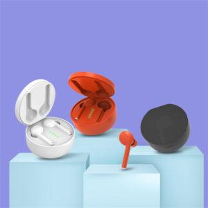 TWS bluetooth 5.0 stereohörlurar Smart Touch Hi-Fi Binaural Call hörlurar Trådlös vattentät hörlurar