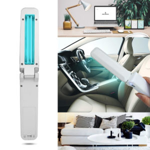 Bakeey HH-1 Handheld Foldable Multifunction UV-C LED Sterilizer Ultraviolet Disinfection Lamp Personal Health Care Face Mask Toothbrush UV Phone Sterilizer Stick Disinfection Equipment