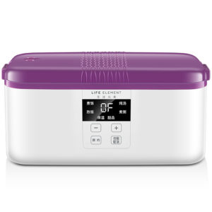 LIFE ELEMENT F15 Smart Timing Electric 300W Double Ceramic Lunch Box Insulation Rice Lunchbox