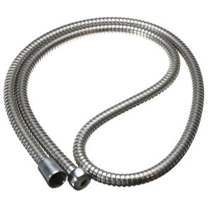 1.5m Stainless Steel Flexible Chrome Handheld Shower Head Hose Bathroom Water Heater Pipe