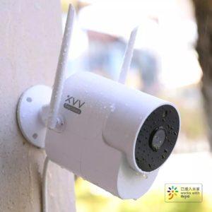 Xiaomi MIjia Xiaovv 150 1080P IP65 Smart IP-kamera Infraröd nattvisionsrörelsedetektion Hemsäkerhet CCTV-skärm