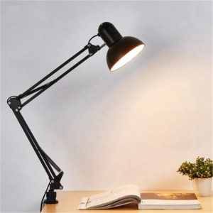 Large Adjustable Swing Arm Drafting Office Studio Clamp Table Lamp Desk Lamps Adjustable Light