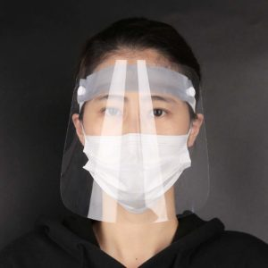Bakeey Transparent Plastic Anti-spittle Wearable Cover Face Windshield Protective Mask