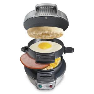 Frukost Hamburger Maker Sandwich Maker Maskin Snabb bekväm hushållsapparat
