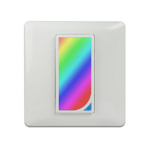 Bakeey 10A DIY RGB Scene EU Type Smart WIFI Switch Tuya APP Remote Control Timing Wall Touch  Switch