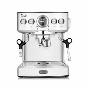 Eupa Rostfritt stål automatisk espressomaskin Kaffebar Cappuccino Latte Maker Kaffemaskin