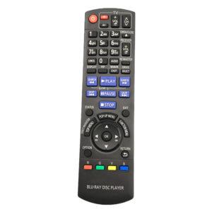 N2QAKB000082 Fjärrkontroll för Panasonic DVD-spelare DMP-BD45 DMP-BD65