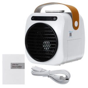 Portable Mini Cooling Fan USB Air Conditioning Humidifier