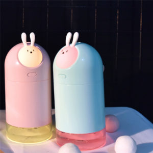 280mL Personal Cute Electric Air LED Ultrasonic Humidifier