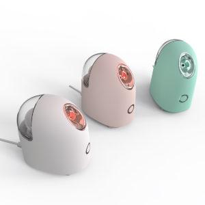220V Nano Facial Steamer Spa Skin Pores Steam Mist Sprayer Acne Cleaner Hydration Humidifier