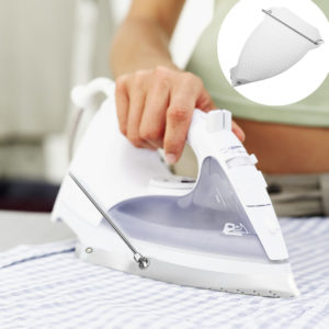 White Electric Parts Iron Cover Shoe Ironing Aid Board Heat Protect Fabrics Cloth Without Scorching