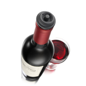 Wine Saver Vacuum Wine Stoppers Set med 6 st