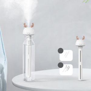 Portable Air Humidifier Purifier Mini Deer Rabbit Detach Bottle Aroma Diffuser Mist Maker For Home Office