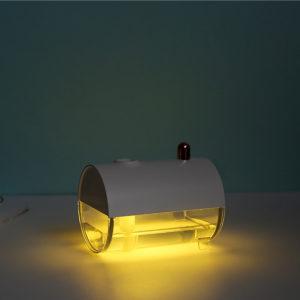 250ML Ultrasonic Air Humidifier LED Lamp Air Purifier