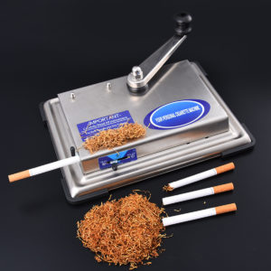 70CM Manual C igarette Roller Injector Rolling Machine T obacco Maker Smoker Gift