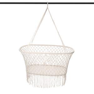 Hanging Baby Indoor Hammock Portable Child Cradle Chair Swing Outdoor Bed White